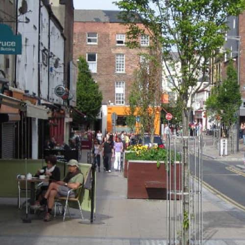 Limerick City Street Remodelling | Lawlor Burns & Associates
