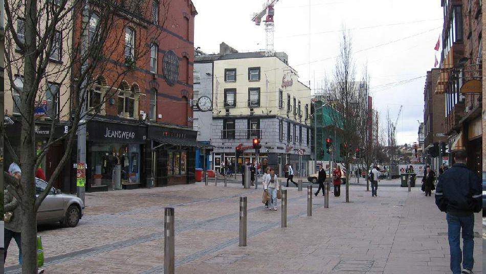 Limerick City Street Remodelling | Lawlor Burns & Associates